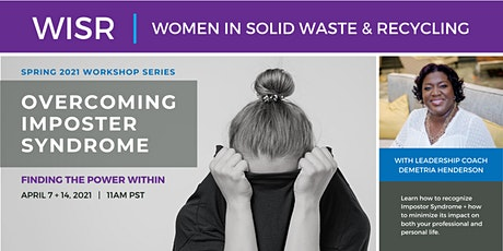 Overcoming Imposter Syndrome - WISR Members tickets