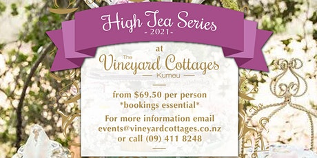 Mothers Day High Tea at Vineyard Cottages tickets