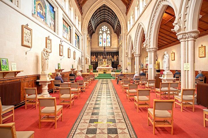 Celebration of  Mass St Mary's Bath: Holy Week and Easter Sunday 2021 image