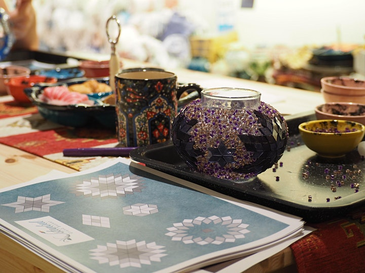 Turkish Mosaic Lamp Workshop Carindale image