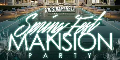 Spring Fest Mansion Party tickets