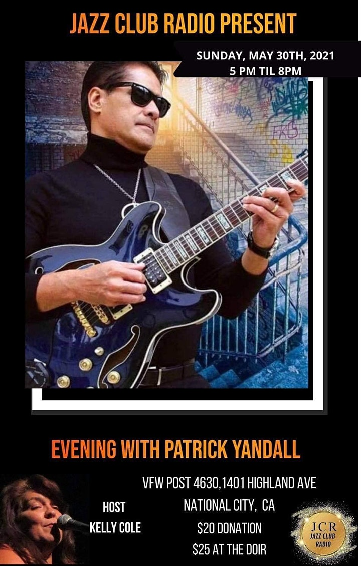 Jazz Club Radio Presents Evening With Patrick Yandall image