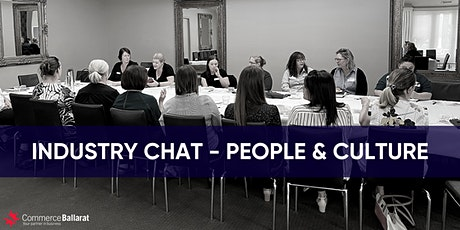 People & Culture - Industry Chat (April) tickets