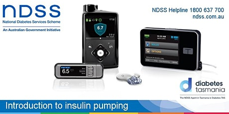 Introduction to insulin pumping - Launceston tickets
