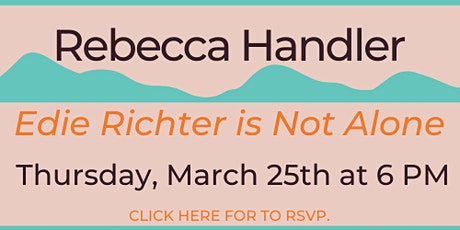 Virtual Author Event with Rebecca Handler tickets
