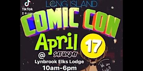 LONG ISLAND COMIC CON Lynbrook BRETT AZAR NBC YOUNG ROCK LIVE April 17th tickets