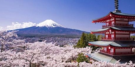 Japan - Virtual  Mt Fuji & Miyagi Cherry Blossom Viewing Tour tickets
