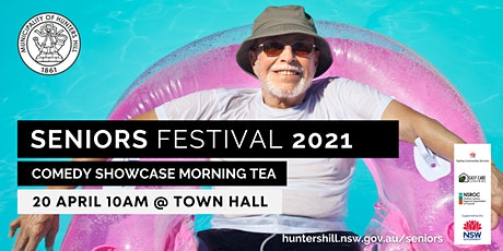 Seniors Festival 2021:  Comedy Showcase Morning Tea tickets