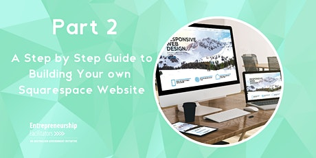 Guide to Building Your Own Website in Squarespace tickets