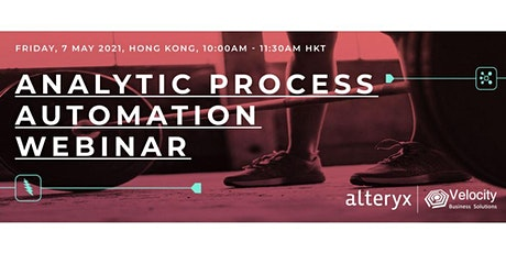 Alteryx Data Preparation & Analytics Webinar (7 May 2021) tickets