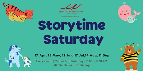 Storytime Saturday for 4-9 year olds tickets