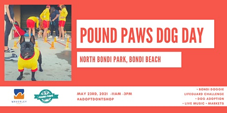 Pound Paws Dog Day at Bondi Beach tickets
