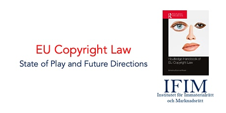 EU Copyright Law: State of Play and Future Directions tickets