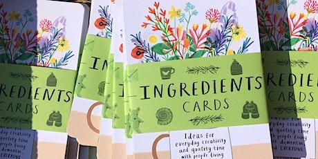 'Ingredients Cards' Webinar tickets
