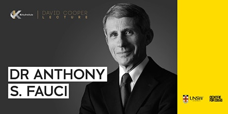 Inaugural David Cooper Lecture | Dr Anthony S. Fauci tickets