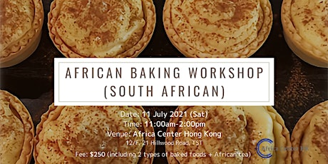 African Baking Workshop (South African) tickets