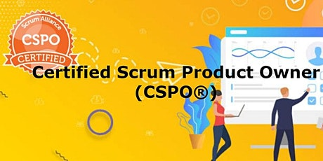Certified Scrum Product Owner (CSPO®) tickets