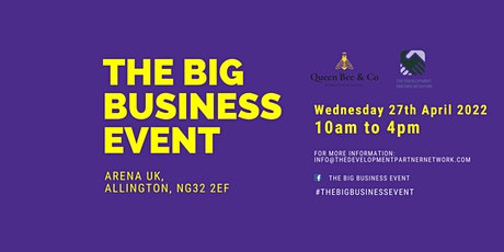 The Big Business Event - 2022 billets