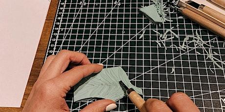 Stempel schnitzen & Textildruck Workshop in Berlin Tickets