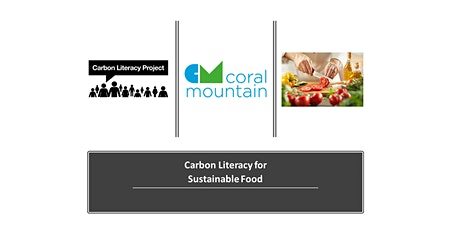 Carbon Literacy Sustainable Food Training - two sessions Check both dates! tickets