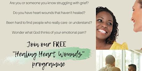 Healing Heart Wounds Online Programme tickets