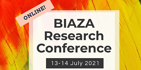 BIAZA Research Committee - virtual conference tickets
