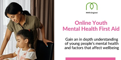 Youth Mental Health First Aid (full MHFA qualification) tickets
