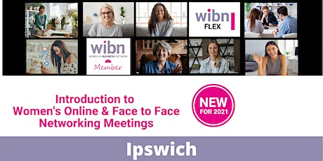 WOMEN IN BUSINESS FUSION -  SUFFOLK ON LINE NETWORKING IN IPSWICH tickets