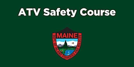 ATV Safety Course- Caribou tickets