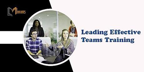 Leading Effective Teams 1 Day Training in Frankfurt Tickets