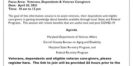 Veterans Benefits Expo (Veterans) tickets