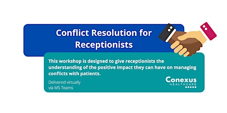 Conflict resolution for receptionists tickets