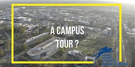 Visite du Campus de Rennes SB [Ecricome Bachelor] billets