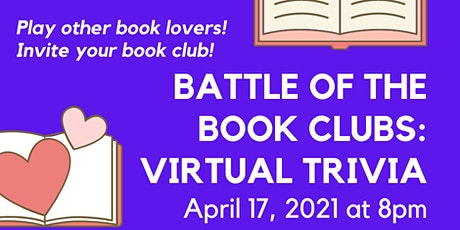 Battle of the Book Clubs: Virtual Trivia tickets