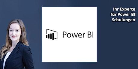 Power BI Basis - Schulung ONLINE Tickets
