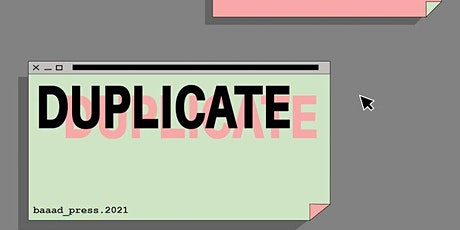 Duplicate 2021: Publishing In A Pandemic tickets