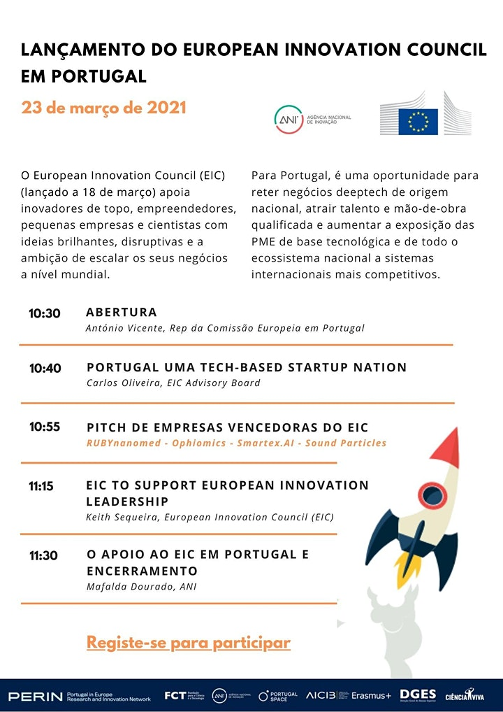 Lançamento do European Innovation Council em Portugal image