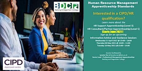 HR Apprenticeships Information Session  - June 2021 Start tickets