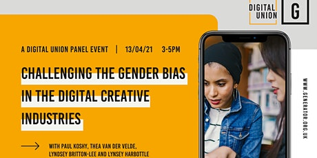 Challenging the Gender Bias in the Digital Creative Industries - Panel tickets