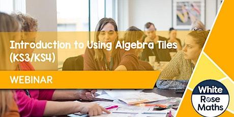 **WEBINAR** Introduction to Using Algebra Tiles (KS3/KS4)- 14.06.21 tickets