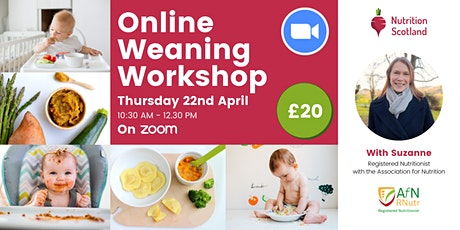 Starting Solids (Weaning) Workshop tickets
