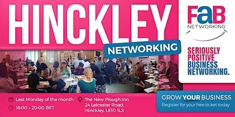 FindaBiz Networking Hinckley biglietti