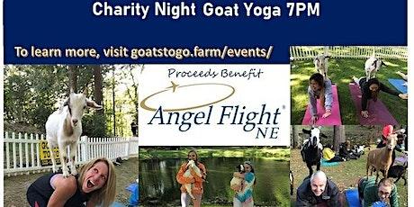 Charity Goat Yoga (Angel Flight NE) tickets