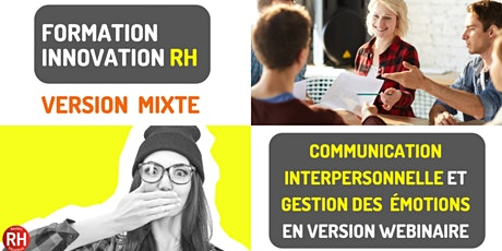 Formation - Communication interpersonnelle et gestion des émotions tickets