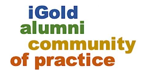 iGold Community of Practice tickets