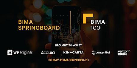 BIMA Springboard  & BIMA 100 celebrations tickets