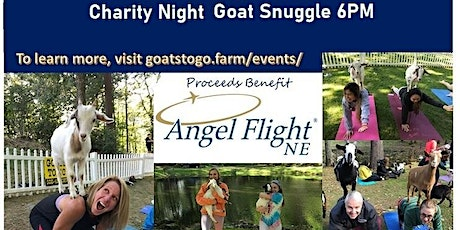 Charity Goat Snuggle & Learn (Angel Flight NE) tickets