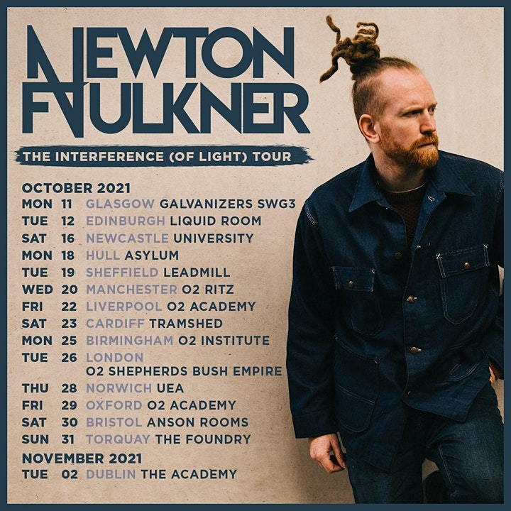 Newton Faulkner at The Foundry Torquay image