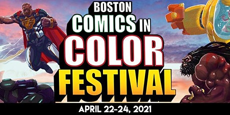 Boston Comics in Color Festival Open Air Marketplace tickets