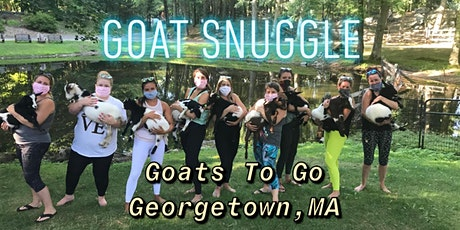 Charity Goat Snuggle & Learn (MSPCA at Nevins Farm) tickets